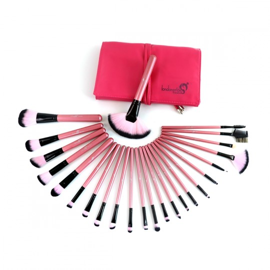 London Pride Artistic Fuchsia 24pcs Brush Set