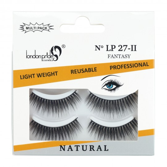 London Pride Multi Pack Natural Eyelashes - LP27-II Fantasy