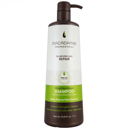Macadamia Weightless Repair Shampoo (1000ml)