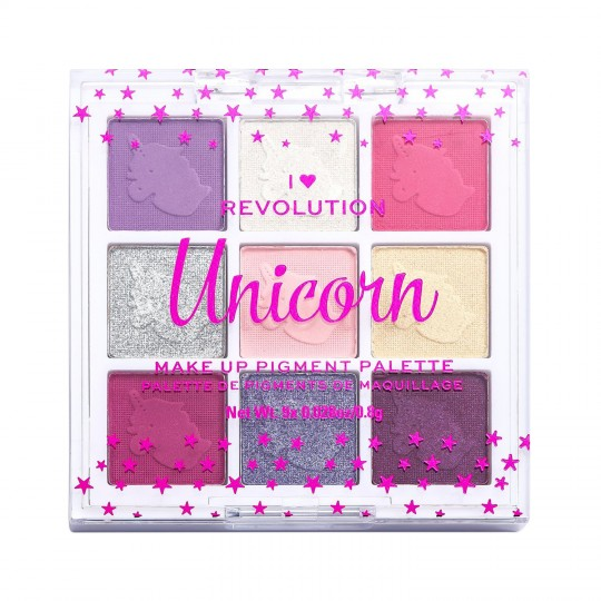 I Heart Revolution Fantasy Makeup Pigment Palette - Unicorn