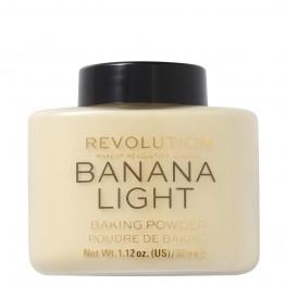 Makeup Revolution Loose Baking Powder - Banana Light