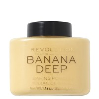 Makeup Revolution Loose Baking Powder - Banana Deep
