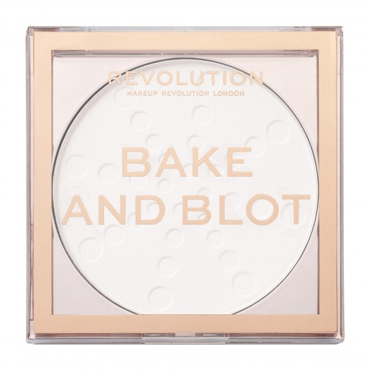 Makeup Revolution Bake & Blot Powder - White