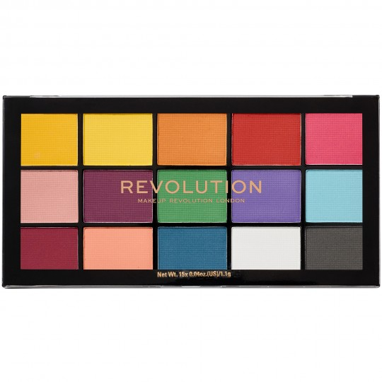 Makeup Revolution Reloaded Eyeshadow Palette - Marvellous Mattes