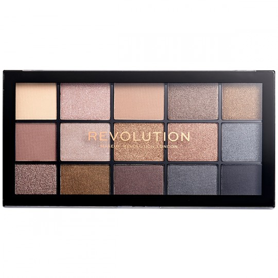 Makeup Revolution Reloaded Eyeshadow Palette - Smoky Newtrals