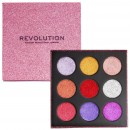 Makeup Revolution Pressed Glitter Palette - Diva