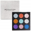 Makeup Revolution Pressed Glitter Palette - Illusion