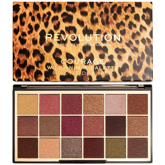 Makeup Revolution Wild Animal Courage Eyeshadow Palette