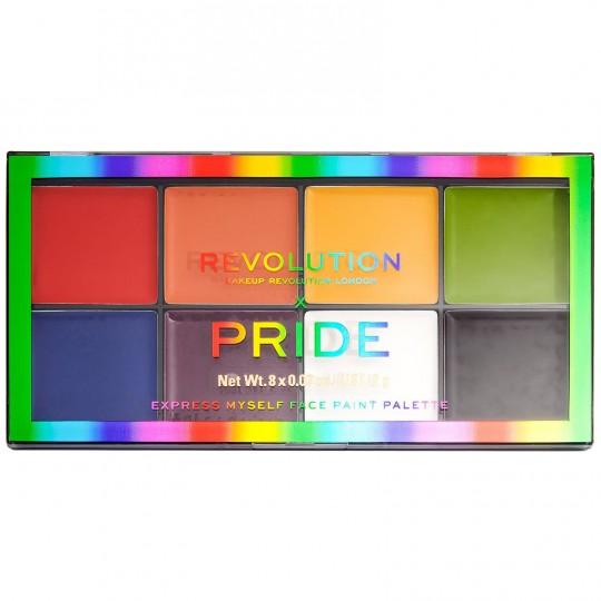 Makeup Revolution X Pride Express Myself Face Paint Palette