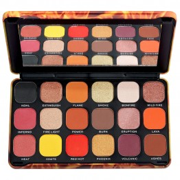 Makeup Revolution Forever Flawless Eyeshadow Palette - Fire