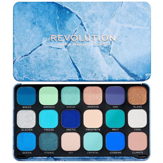 Makeup Revolution Forever Flawless Eyeshadow Palette - Ice