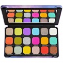 Makeup Revolution Forever Flawless Halloween Eyeshadow Palette - Rainbow