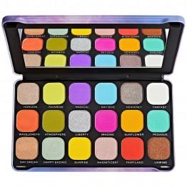 Makeup Revolution Forever Flawless Halloween Eyeshadow Palette - Rainbow