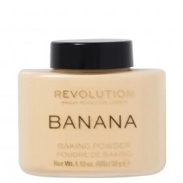Makeup Revolution Loose Baking Powder - Banana