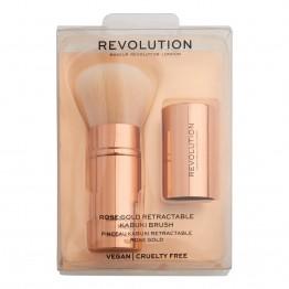 Makeup Revolution Rose Gold Retractable Kabuki Brush