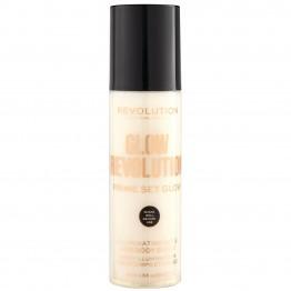 Makeup Revolution Glow Revolution Fixing Spray - Eternal Gold