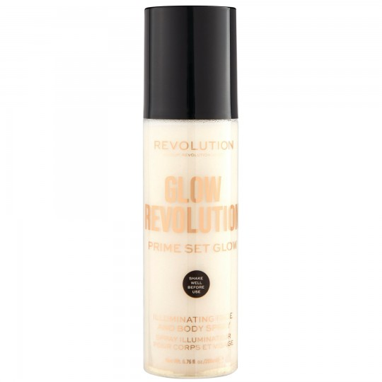 Makeup Revolution Glow Revolution Fixing Spray - Eternal Gold