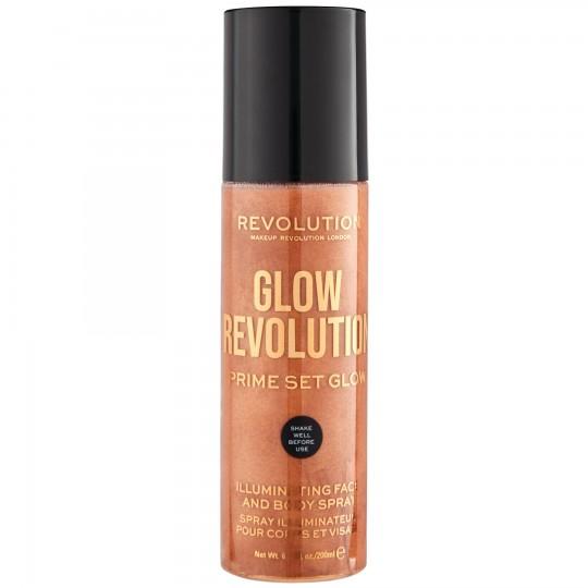 Makeup Revolution Glow Revolution Fixing Spray - Timeless Bronze