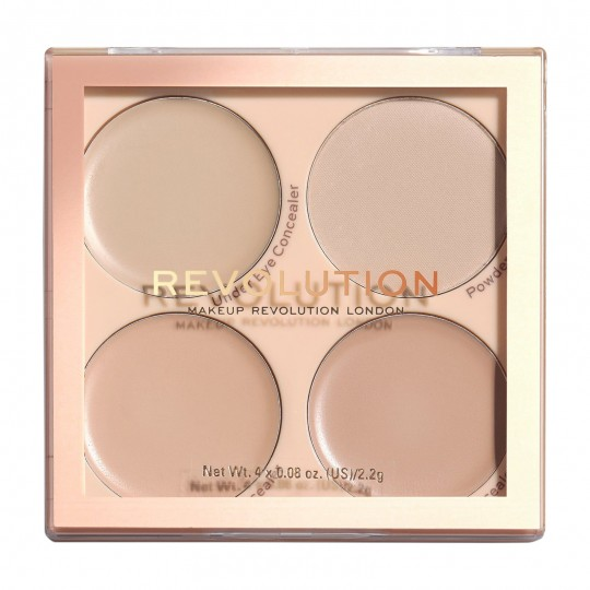 Makeup Revolution Matte Base Concealer Kit C1 - C4
