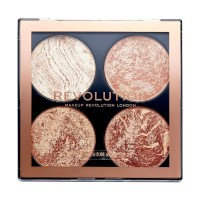 Makeup Revolution Highlighting and Bronzing Cheek Kit - Don't Hold Back