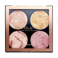 Makeup Revolution Highlighting and Bronzing Cheek Kit - Fresh Perspective