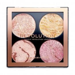 Makeup Revolution Highlighting and Bronzing Cheek Kit - Fresh Perspective