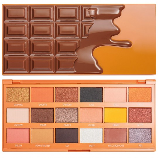 I Heart Revolution Peanut Butter Cup Chocolate Eyeshadow Palette