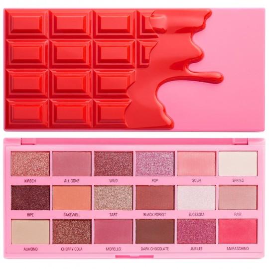 I Heart Revolution Cherry Chocolate Eyeshadow Palette