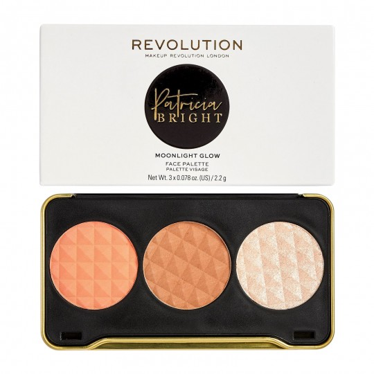 Makeup Revolution X Patricia Bright Face Palette - Moonlight Glow