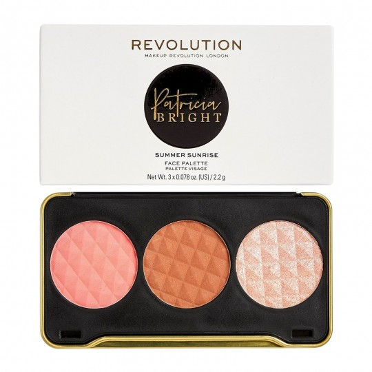 Makeup Revolution X Patricia Bright Face Palette - Summer Sunrise