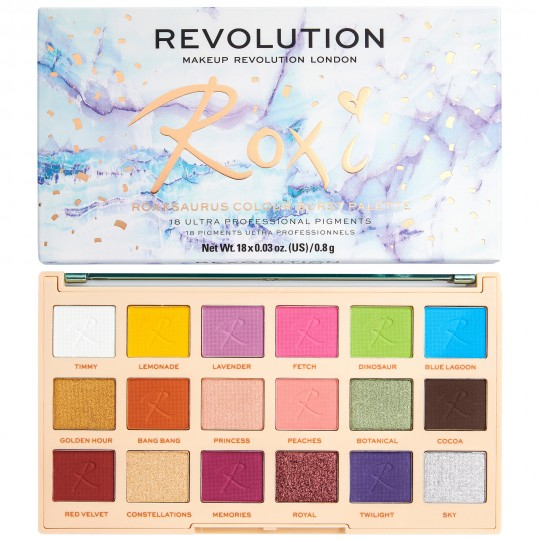 Makeup Revolution X Roxxsaurus Eyeshadow Palette - Colour Burst