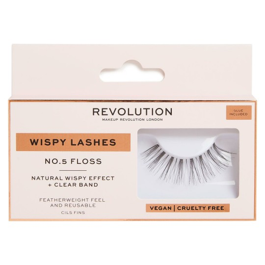Makeup Revolution Wispy Lashes - No.5 Floss