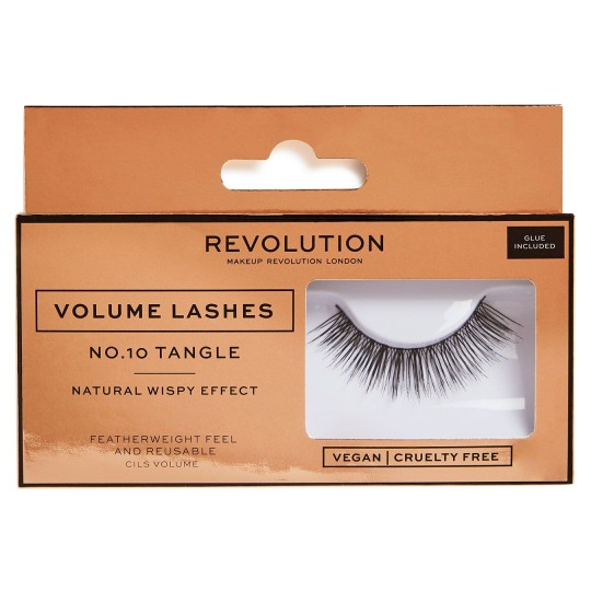 Makeup Revolution Volume Lashes - No.10 Tangle