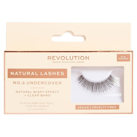 Makeup Revolution Natural Lashes - No.3 Undercover