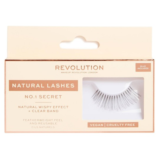 Makeup Revolution Natural Lashes - No.1 Secret