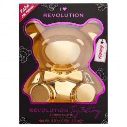 I Heart Revolution Teddy Bear Eyeshadow Palette - Honey