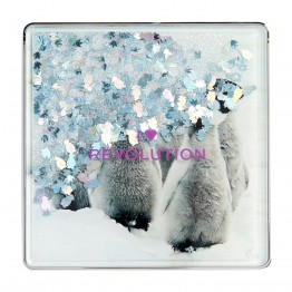I Heart Revolution Snow Globe Eyeshadow Palette - Penguin