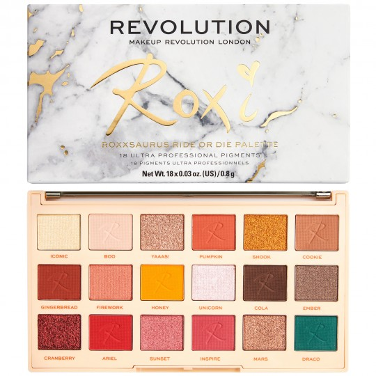 Makeup Revolution X Roxxsaurus Eyeshadow Palette - Ride or Die