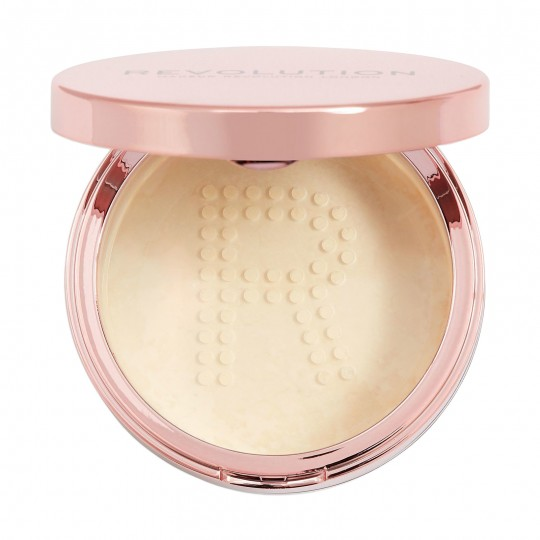 Makeup Revolution Conceal & Fix Setting Powder - Light Yellow