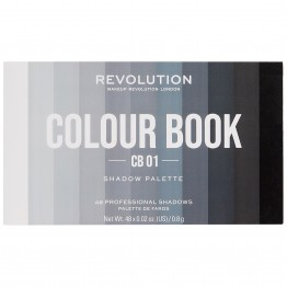 Makeup Revolution Colour Book Eyeshadow Palette - CB01