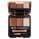 Makeup Revolution Brow Sculpt Kit - Medium Brown