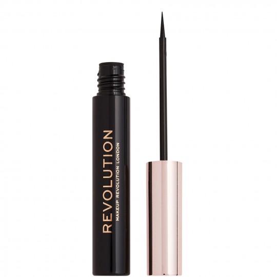 Makeup Revolution Super Flick Eyeliner - Black