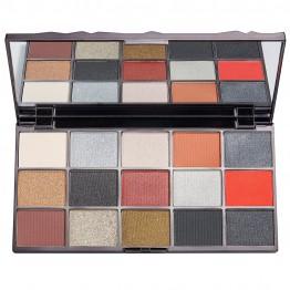 Makeup Revolution Glass Eyeshadow Palette - Black Ice