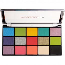 Makeup Revolution Reloaded Eyeshadow Palette - Euphoria