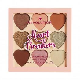 I Heart Revolution Heartbreakers Eyeshadow Palette - Majestic