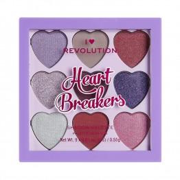 I Heart Revolution Heartbreakers Eyeshadow Palette - Mystical