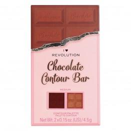 I Heart Revolution Chocolate Contour Palette - Medium