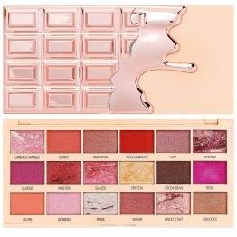 I Heart Revolution Marble Rose Gold Chocolate Eyeshadow Palette