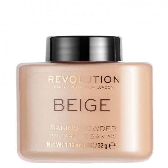 Makeup Revolution Loose Baking Powder - Beige