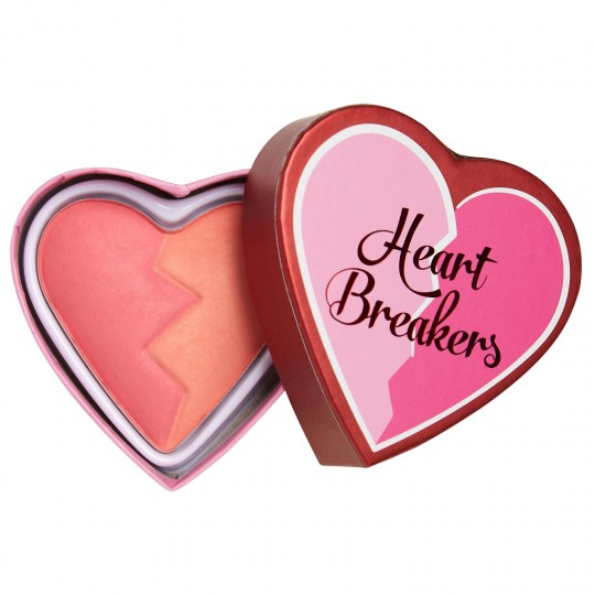 I Heart Revolution Heartbreakers Matte Blush - Inspiring